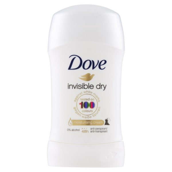 DOVE DEODORANTE INVISIBLE DRY STICK 30 ML